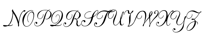 CAC Champagne Font UPPERCASE