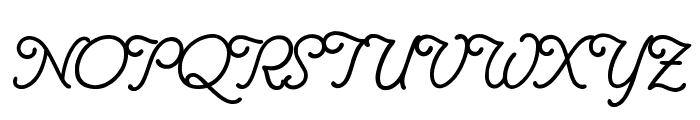 Delicacy Font UPPERCASE