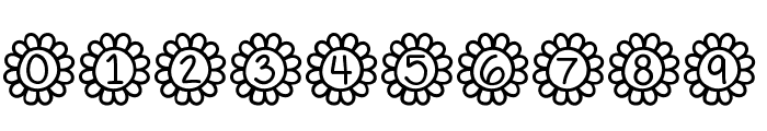 Flower Power Font OTHER CHARS