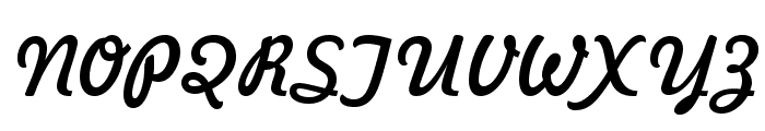 Freehand 521 BT Font UPPERCASE