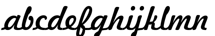 Freehand 521 BT Font LOWERCASE
