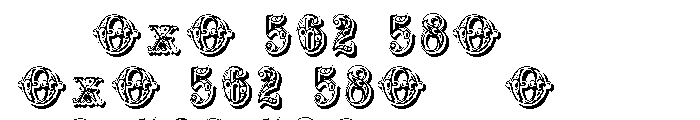 Grotesque Salloon Font OTHER CHARS