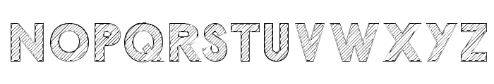 Malabars Tryout Font UPPERCASE