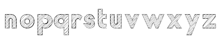 Malabars Tryout Font LOWERCASE
