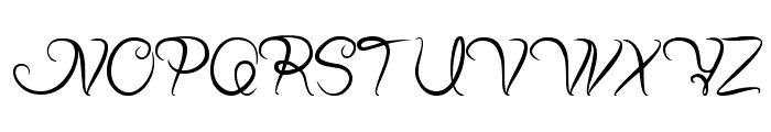 Planting and Seeding Font UPPERCASE