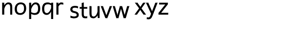 Rescue Font LOWERCASE