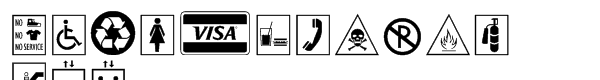 Signs™ Pi Font LOWERCASE