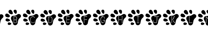 #bearfaced Font UPPERCASE