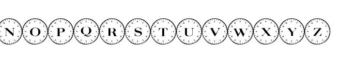101! Compass Font LOWERCASE