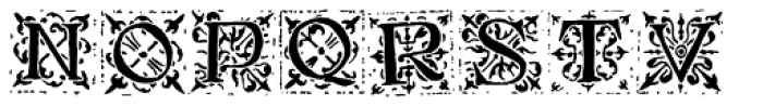 1512 Initials Normal Font LOWERCASE