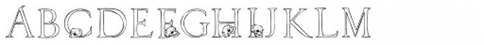 2010 Dance Of Death Font LOWERCASE