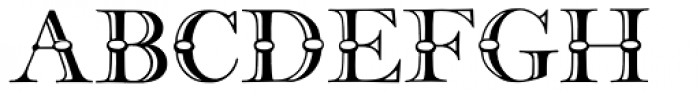 36 Frys Ornamented Font LOWERCASE