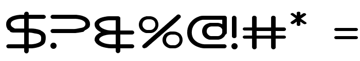 8th Element Font OTHER CHARS