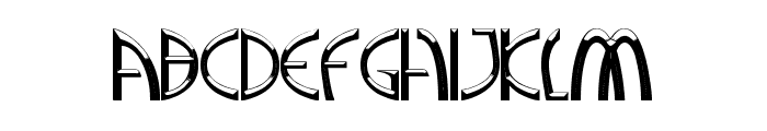 A Greater Foundation Font LOWERCASE