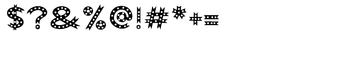 Abigail Dots Font OTHER CHARS