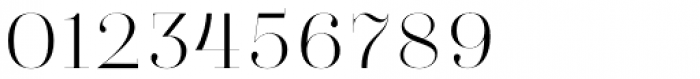 Absolute Beauty Serif Thin Font OTHER CHARS