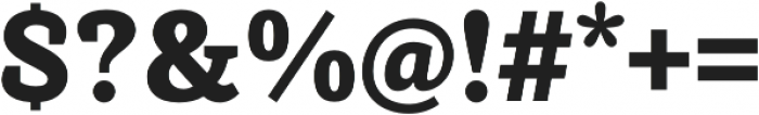 Achille II FY Black otf (900) Font OTHER CHARS