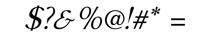 AccanthisADFStdNo2-Italic Font OTHER CHARS