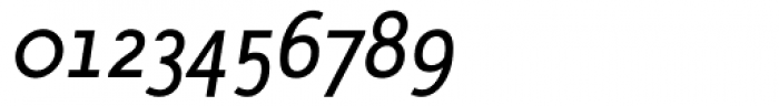 AcademiaT Italic Font OTHER CHARS