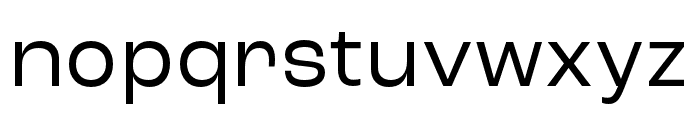 Roc Grotesk ExtraWide Font LOWERCASE
