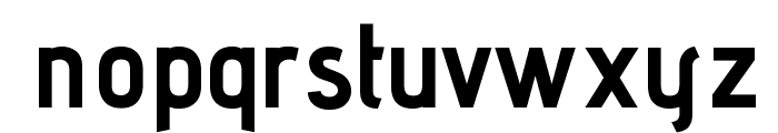 Advent Pro Bold Font LOWERCASE