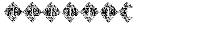 Adorn Duo Font LOWERCASE