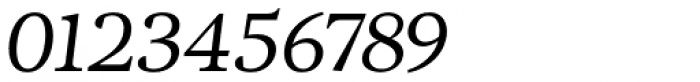 Adriane Text Italic Font OTHER CHARS