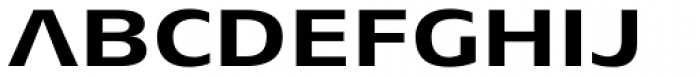 Aeonis Pro Extended Bold Font UPPERCASE
