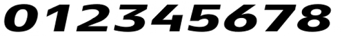 Aeonis Pro Extended Heavy Italic Font OTHER CHARS