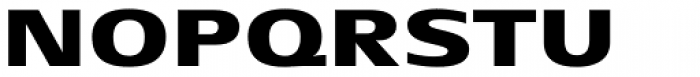 Aeonis Pro Extended Heavy Font UPPERCASE