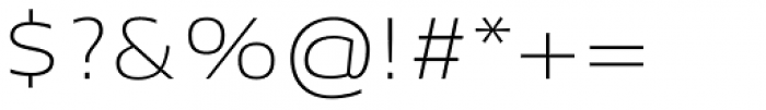 Aeonis Pro Extended Thin Font OTHER CHARS