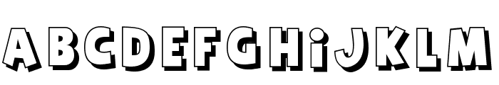 Agent Red Font LOWERCASE