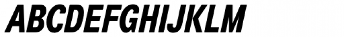 Air Soft Compressed Heavy Oblique Font UPPERCASE