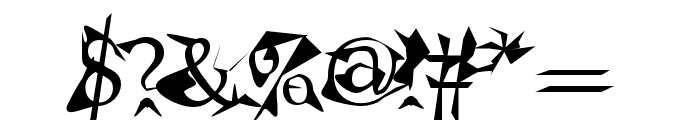 Alien Font OTHER CHARS