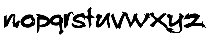 Allan Rooster Font LOWERCASE