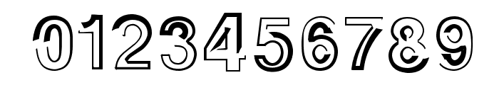 AlphaSevenTeen Font OTHER CHARS