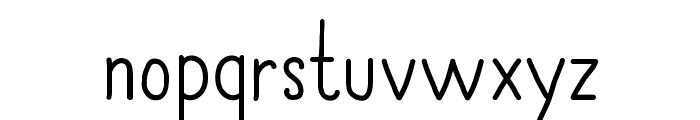 AlwaysTogether Font LOWERCASE