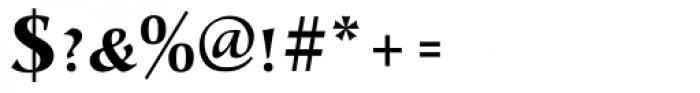 Alcuin ExtraBold Caps Font OTHER CHARS