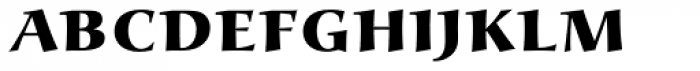 Alcuin ExtraBold Caps Font LOWERCASE