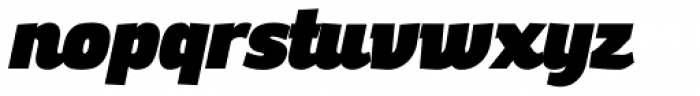 Altair Ultra Italic Font LOWERCASE