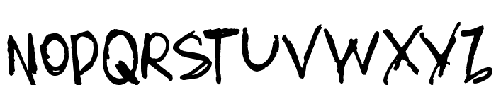 AmazHand_First Font UPPERCASE