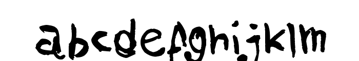 AmazHand_First Font LOWERCASE