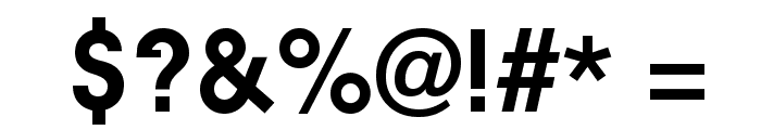 Ambient Medium Font OTHER CHARS