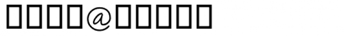 Amadeo Alt Font OTHER CHARS
