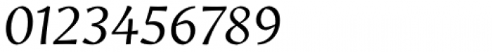 Amrys Light Italic Font OTHER CHARS