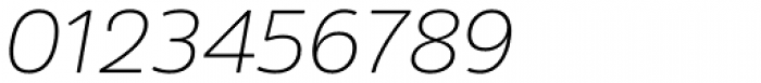 Amsi Pro ExtraLight Italic Font OTHER CHARS