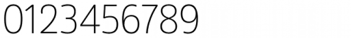 Amsi Pro Narrow ExtraLight Font OTHER CHARS