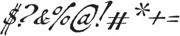 Antiquarian Scribe otf (400) Font OTHER CHARS