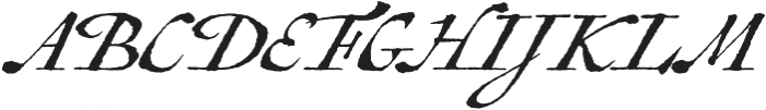Antiquarian Scribe otf (400) Font UPPERCASE