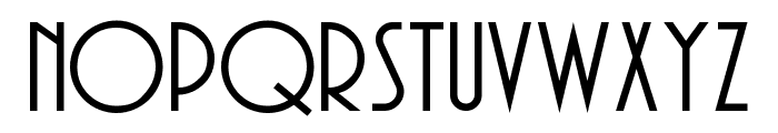 Andes Font LOWERCASE